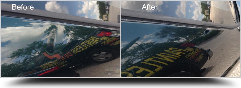Paintless Dent Removal BMW 328 West Palm Beach 33405 PalmBeachDentRepair