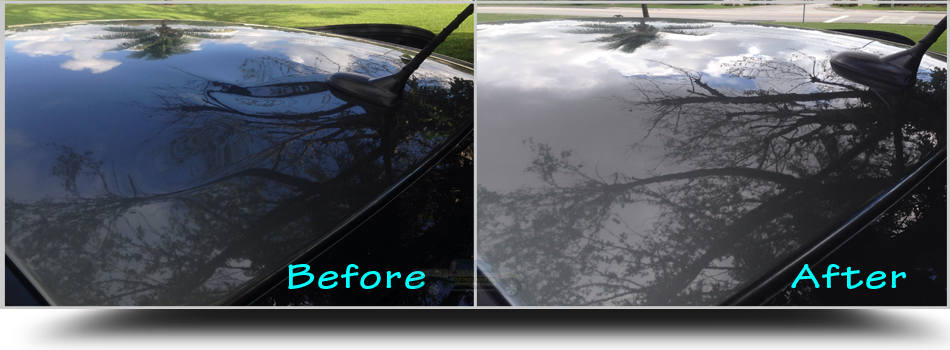 Paintless-Dent-Removal-Roof-Chrysler-200-West-Palm-Beach-Florida-33401-PalmBeachDentRepair