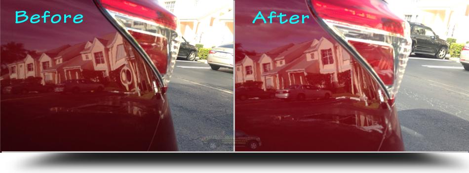 Paintless-Dent-Removal-Lexus-Quarter-Palm-Beach-Fl-33480-33407-33410-33403